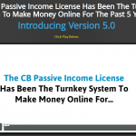 CB Passive Income Review – A Fully Functional Free Version Included